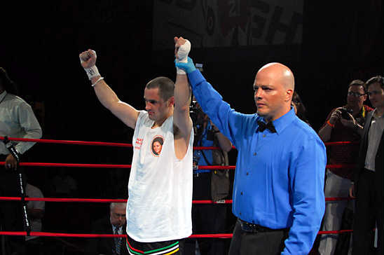 Henry Coyle wins by anticlimactic TKO