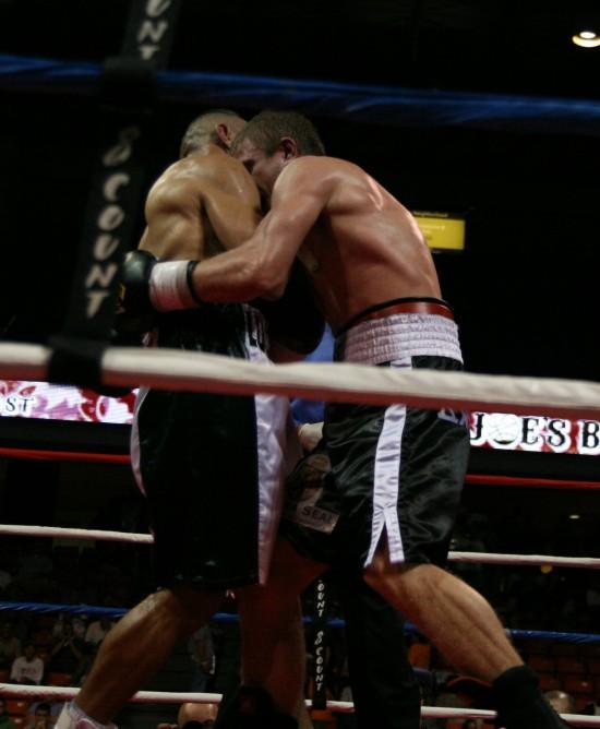 Novikov holds on tight.