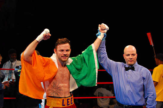 Andy Lee shows his colors in victory