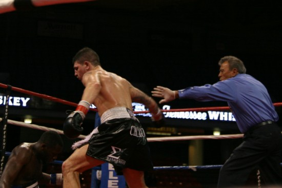 Donovan George drops Taylor as Geno Rodriguez jumps in