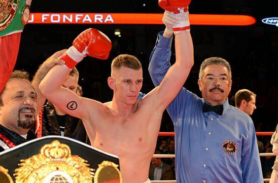 Andrzej Fonfara enjoys his win