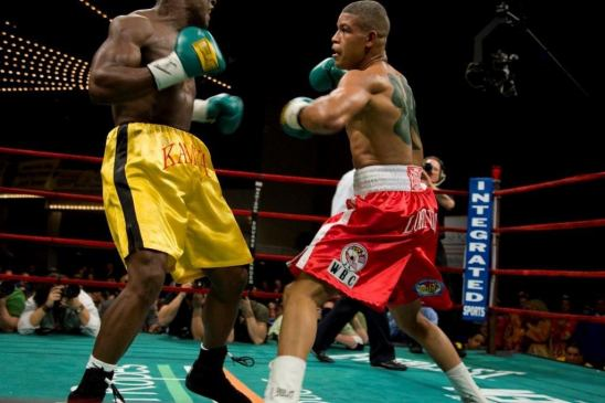 Photo Courtesy Team Lorenzo, March 16, 2007/St. Patrick's Day vs. Roberto Kamya at MSG