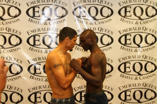 Hernandez (L) and Oluoch Weigh In