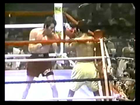 Mike Ayala in a similar war versus Danny Lopez in '1979 Fight of the Year'