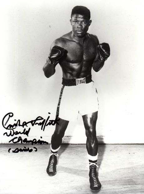 Emile Griffith at his peak (photo courtesy of boxrec.com)