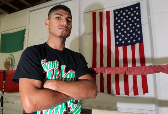 Mikey Garcia (photo by Chris Farina/Top Rank, Copyright 2013)