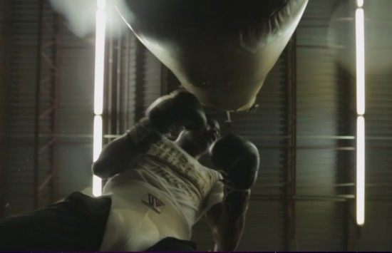 Broner hitting the bag (still courtesy of Showtime Sports)