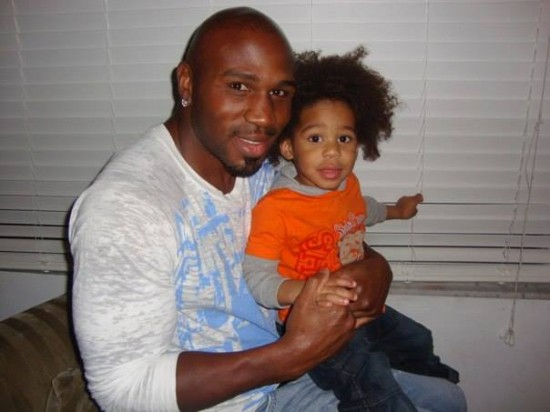 Jeff Lacy, seen here with his son (photo courtesy of Jeff Lacy's Facebook page)