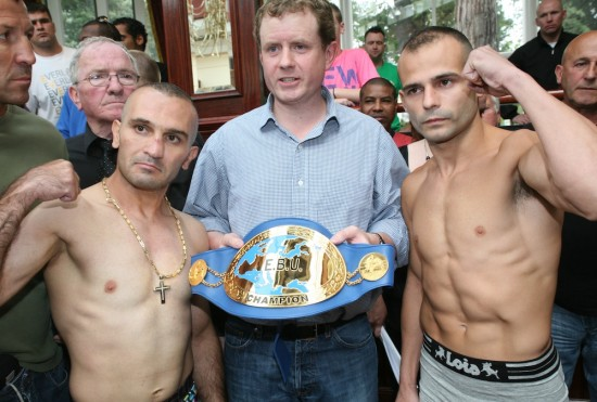 Kiko Martinez, seen here at right with Arsen Martyrosian (photo courtesy of www.brianpeterspromotions.com)