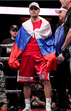 """Krusher"" Kovalev -  Photo by Rich Graessle/ Main Events"