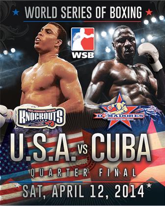 World Series of Boxing makes New England Debut Apr. 12 USA vs. Cuba at