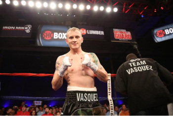 Sammy Vasquez, Jr. remains unbeaten - Photo by Stephanie Trapp / SHOWTIME