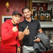 Provodnikov, at left, with Algieri
