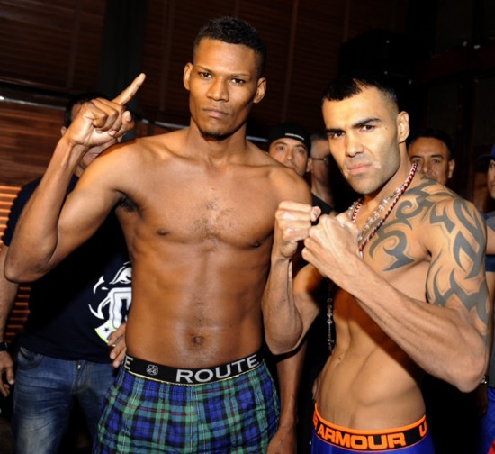Scott, at left, and Garcia are fit and ready to rumble tonight!