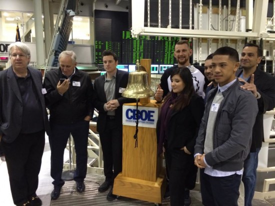 Boxer Jose Felix Quezada apears on the far right (photo courtesy of Rick Ramos).
