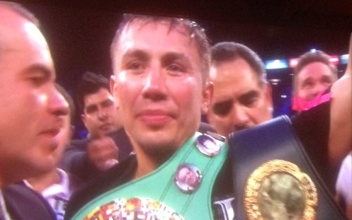 Golovkin emerges victorious.