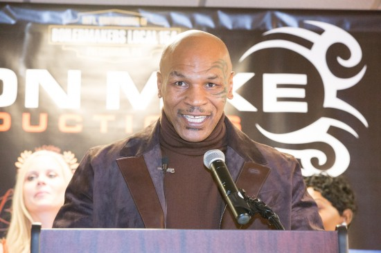 """""""Iron"""" Mike Tyson the promoter!"""