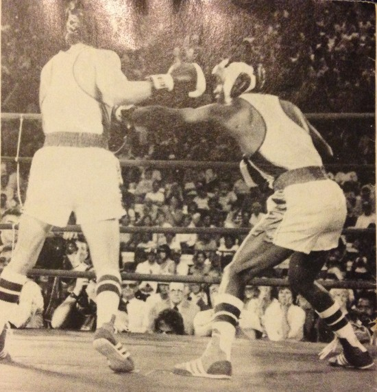 Floyd Favors of Capitol Heights, Maryland decisioned Jesse Benavides of Corpus Christi, Texas to win the 1983 United States Sports Festival Bantamweight title at Colorado Springs, Colorado