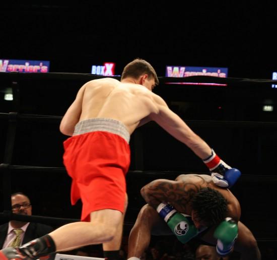 Szmanski finishes King.