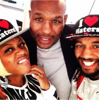 Lil' Mo, Hopkins and D-Mite - Photo Courtesy of: @TheLilMoShow Instagram