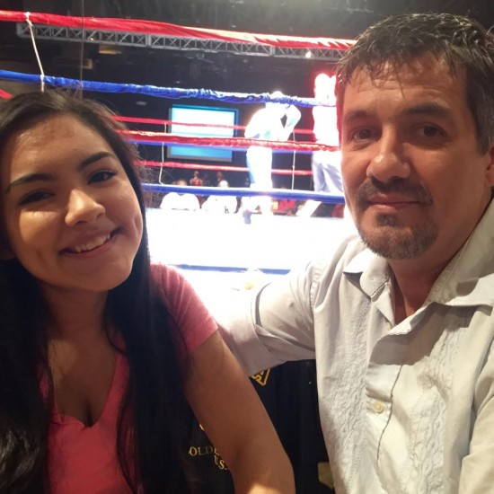 Female boxers at Arizona Golden Gloves