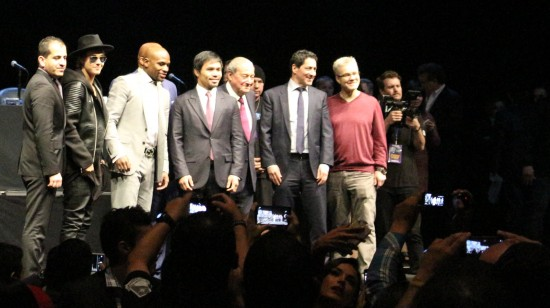 Floyd, Manny and Bieber.