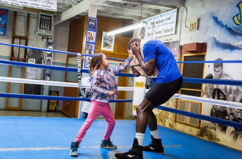 Kennedy and Steve Cunningham - Photo Credits: Dave Torres/ Main Events
