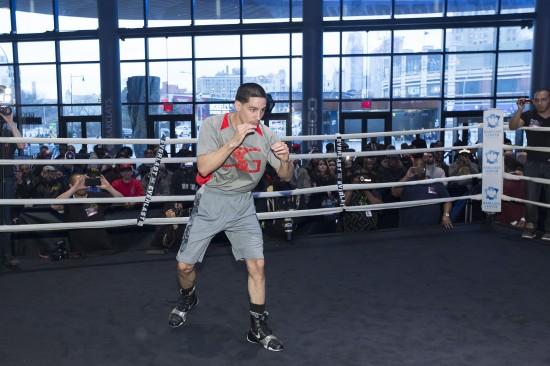 Danny Garcia in the ring.