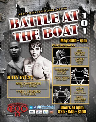 Battle at the Boat 101 Poster