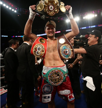 Krusher Kovalev prepares to defend his belts - Photo by David Spagnolo/ Main Events