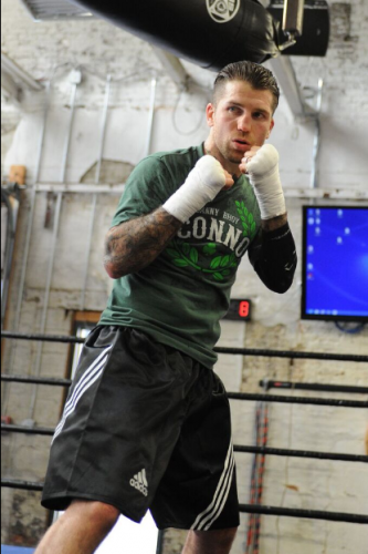 Danny Bhoy O'Connor (pictured) will face Vermont's Chris Gilbert - Photo by Emily Harney