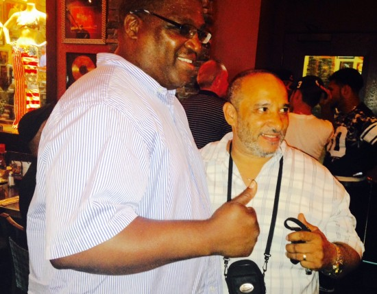 1996 Olympian Lawrence Clay-Bey and Hartford Luis Ortiz meet for the first time on August 15, 2015 at the amateur boxers reunion since Ortiz defeated Clay-Bey on an amateur show in Hartford in October of 1977.