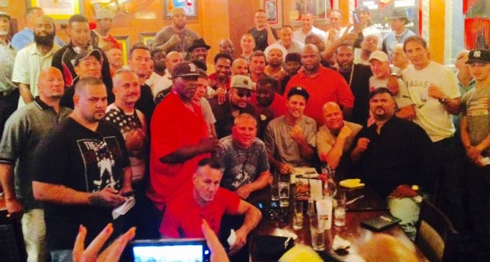Amateur boxers in attendance at the reunion at Foxwoods, including Bob Yalen, Marlon Starling, Mickey Ward and Lawrence Clay-Bey.