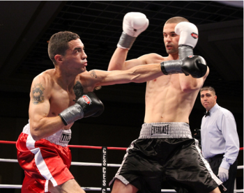 Smith (R) returns to the ring 9/18 - CES Photo by Kelly MacDonald