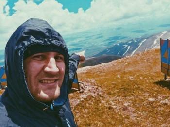 Kovalev Overlooking Armenian Mountaintop Photo Courtesy of: Sergey Kovalev