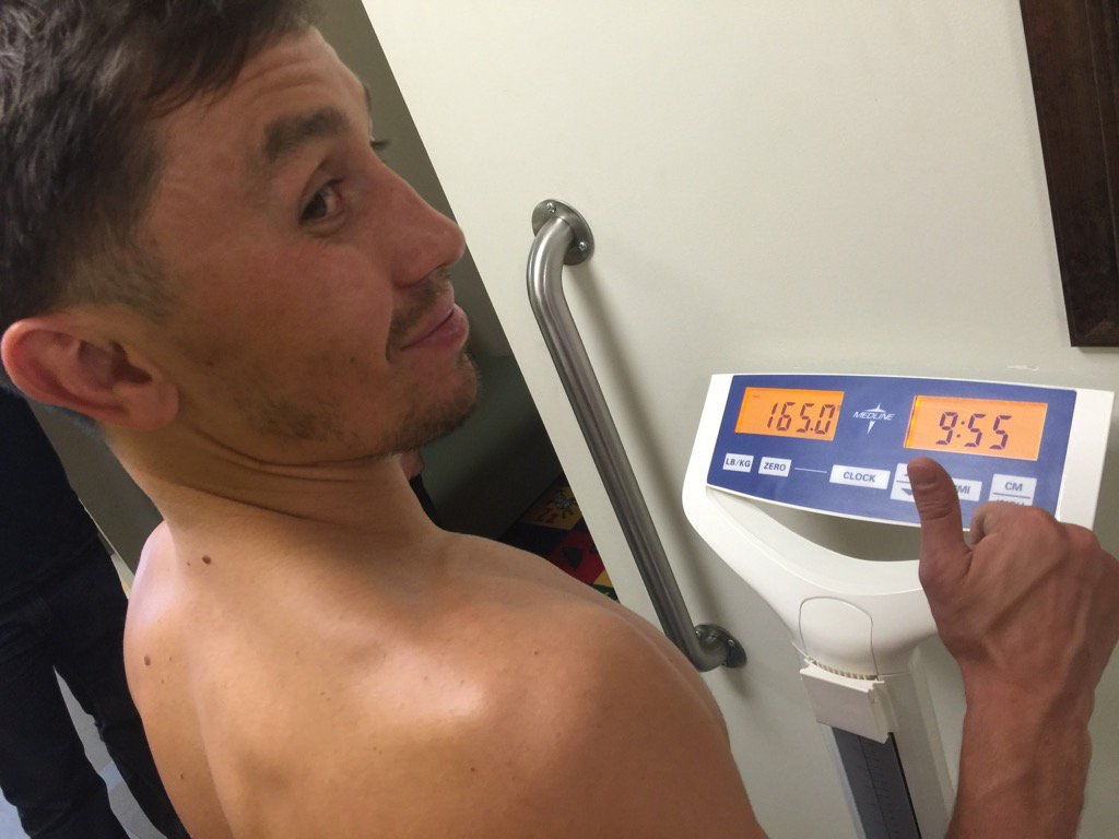 Gennady Golovkin is pleased with his weight.