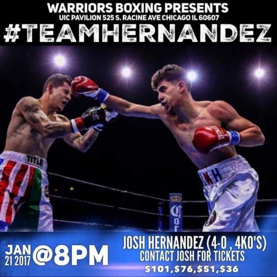 Josh Hernandez publicity
