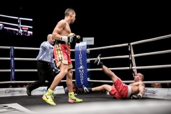 Mohammad Rabii ended his pro debut in grand fashion (photo by Martina Houdek)