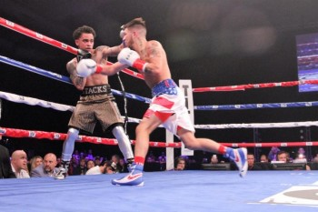 Nico Hernandez (R) is a future star - (Photo by Charles Yellowfeather / KO Night Boxing)