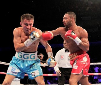 Kell Brook (R) (photo courtesy of Matchroom Boxing)