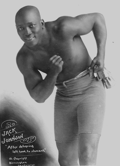 Cyber Boxing Zone -- Jack Johnson