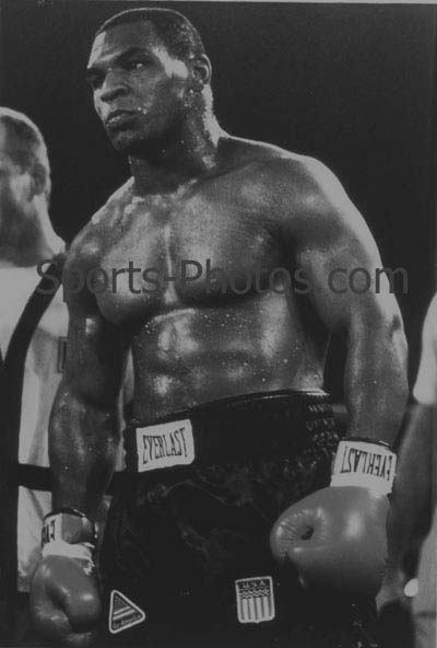 Mike Tyson Black And White Pictures