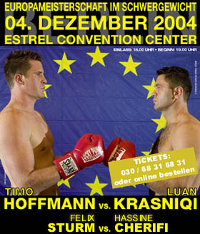 Archived Weblog Entry 11 30 2004 Krasniqi And Hoffmann Fighting For Heavyweight World Title Shot